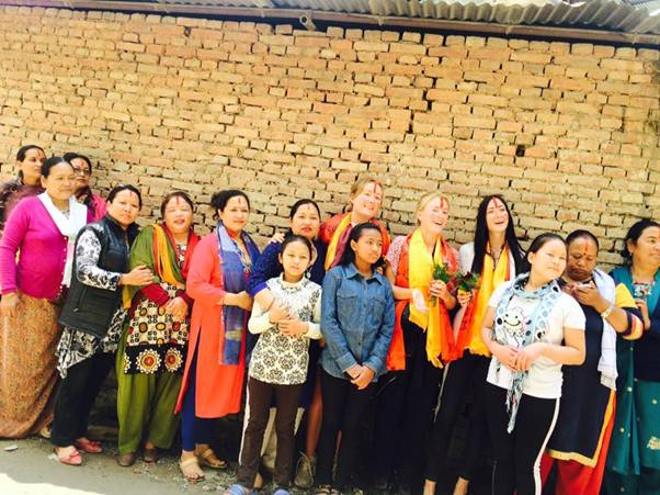 Women teaching women in Nepal - Volunteers empowering and enabling Nepali people